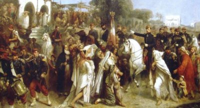 26DIC12 French_expeditionary_corps_landing_in_Beyrouth_16_August_1860-2-3e5ab